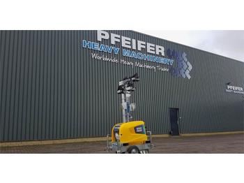 Atlas Copco Highlight E3+ New, Max Boom Height 7m, 10 Lux, Lig  - lighting tower