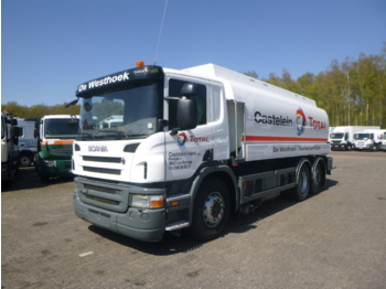 Scania P380 6X2 fuel tank 20.6 m3 / 4 comp + dual pump/counter/hoses - tank truck